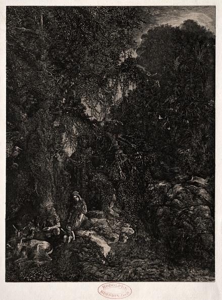 1870-1879「Holy Family With Deer」:写真・画像(14)[壁紙.com]