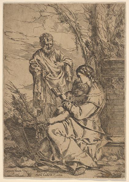 Jesus Christ「Holy Family With The Virgin Reading」:写真・画像(7)[壁紙.com]