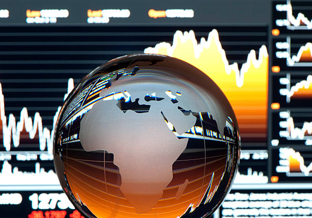 Global finance concept. Europe:スマホ壁紙(壁紙.com)