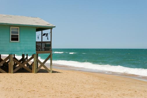Coastline「Beach House with Surf and Ocean Horizon View」:スマホ壁紙(13)