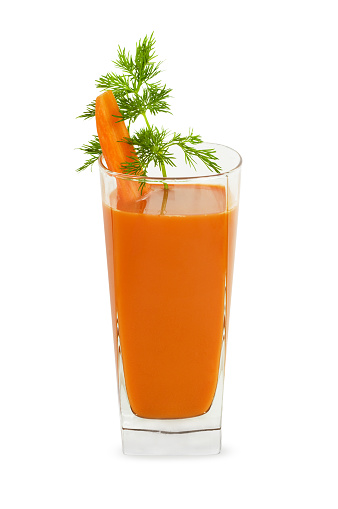 Vegetable Juice「An isolated image of a glass of carrot juice」:スマホ壁紙(10)