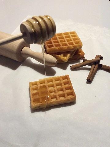 Waffled「Honey and waffle」:スマホ壁紙(16)