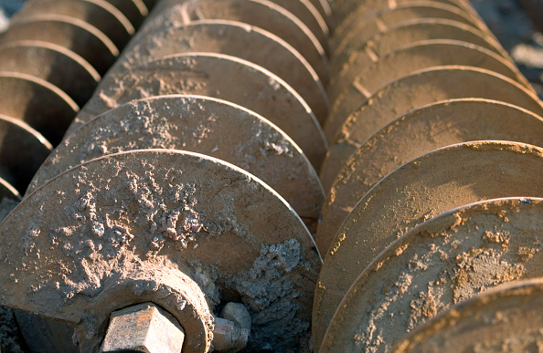 Rusty「Groundwork and piling on a road construction project」:写真・画像(14)[壁紙.com]