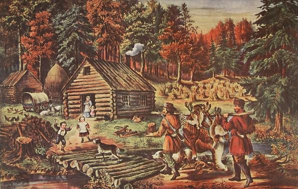 カラー画像「The Pioneer'S Home On The Western Frontier」:写真・画像(4)[壁紙.com]