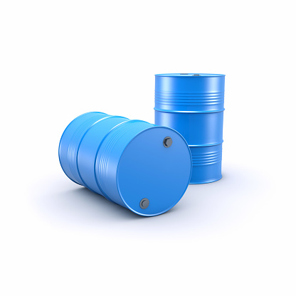 Oil Industry「blue barrels」:スマホ壁紙(11)