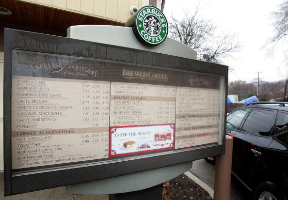 Menu「Starbucks Invests Heavily In Drive-Thru Market」:写真・画像(14)[壁紙.com]