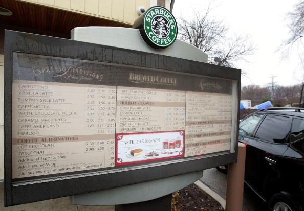 Menu「Starbucks Invests Heavily In Drive-Thru Market」:写真・画像(17)[壁紙.com]