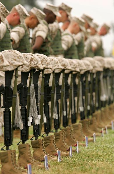 Religion「1st Marine Division Honors Comrades Killed In Iraq」:写真・画像(13)[壁紙.com]