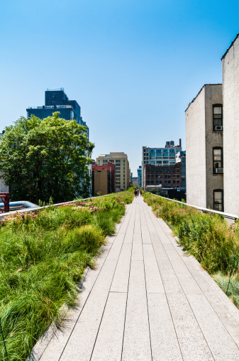 Meatpacking District「The High Line Park New York」:スマホ壁紙(1)