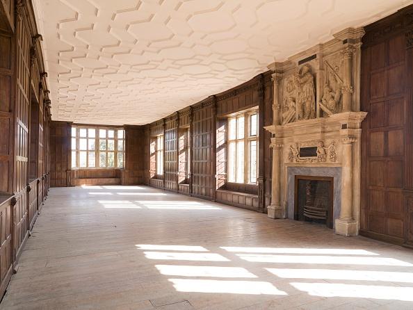 Ceiling「The Long Gallery, Apethorpe Palace, Northamptonshire, 2008」:写真・画像(4)[壁紙.com]