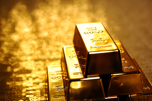 Banking「Stack of gold bars」:スマホ壁紙(18)