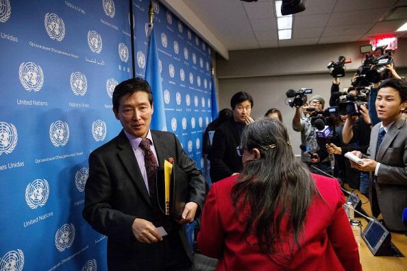 Effort「North Korean Diplomat Holds Press Conference At The U.N.」:写真・画像(10)[壁紙.com]