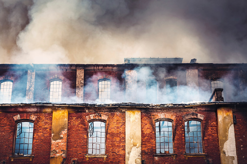 Inferno「Burning Building」:スマホ壁紙(18)