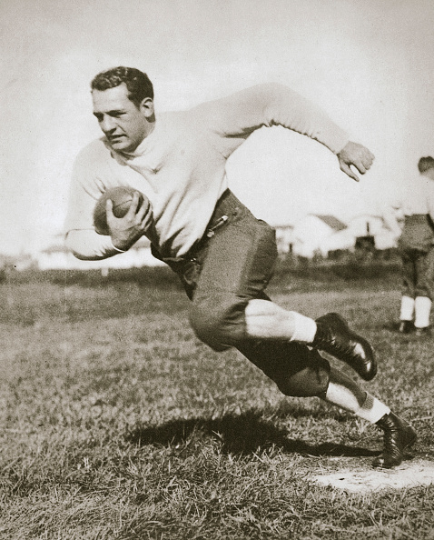 20th Century「Harold Edward 'Red' Grang American Football Player Mid 1920s」:写真・画像(7)[壁紙.com]