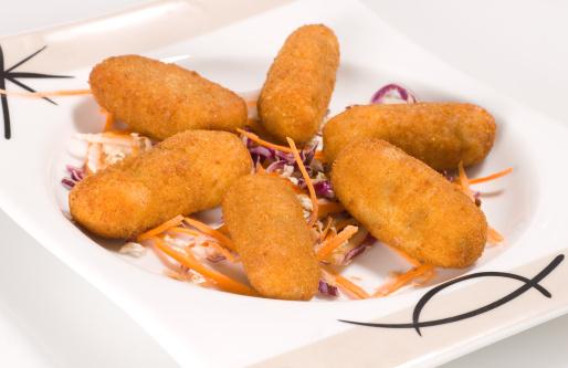 Dessert「Six cod fish croquettes」:スマホ壁紙(6)