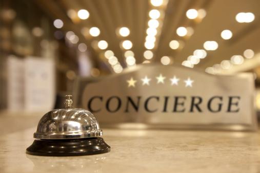 Hotel Reception「Concierge Bell」:スマホ壁紙(1)
