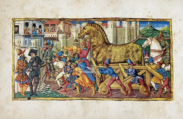 Horse「The Trojan Horse」:写真・画像(8)[壁紙.com]