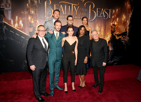 エマ・ワトソン「The World Premiere Of Disney's Live-Action 'Beauty And The Beast'」:写真・画像(17)[壁紙.com]