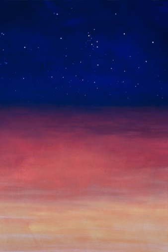 星空「Layers of atmosphere」:スマホ壁紙(8)
