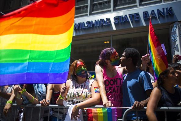 Celebration Event「Gay Pride Parade Winds Through New York City」:写真・画像(19)[壁紙.com]