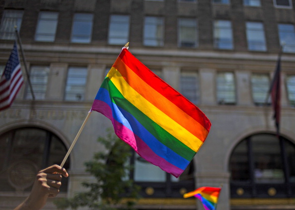 LGBTQIA Pride Event「Gay Pride Parade Winds Through New York City」:写真・画像(0)[壁紙.com]