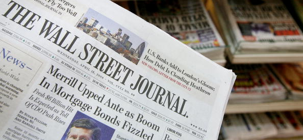 Newspaper「Wall Street Journal U.S. Edition Goes On Sale In London For The First Time」:写真・画像(17)[壁紙.com]