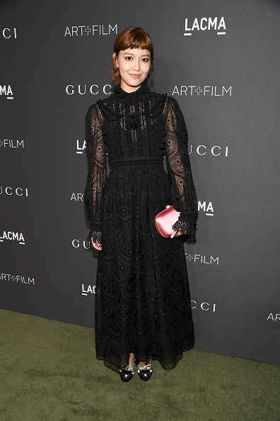 スヨン「2016 LACMA Art + Film Gala Honoring Robert Irwin And Kathryn Bigelow Presented By Gucci - Red Carpet」:写真・画像(6)[壁紙.com]