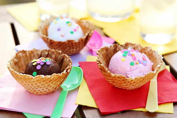dessert - ice cream and lemonade:スマホ壁紙(壁紙.com)