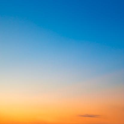 Clear Sky「Sunset sky」:スマホ壁紙(14)