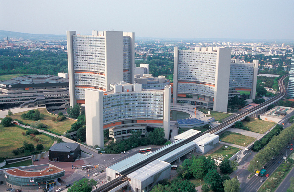 High Angle View「Vienna, Austria, Vienna International Center.」:写真・画像(14)[壁紙.com]