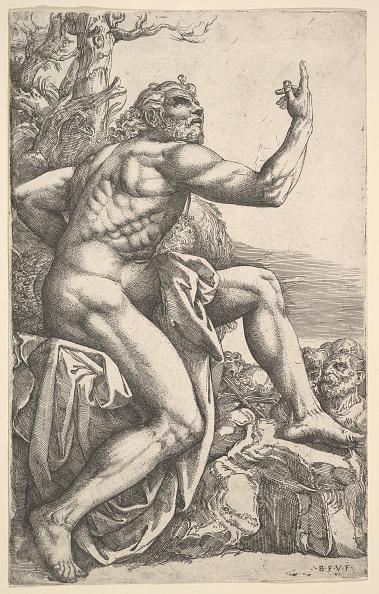 John The Baptist「John The Baptist Preaching In The Wilderness Creator: Battista Franco Veneziano」:写真・画像(0)[壁紙.com]