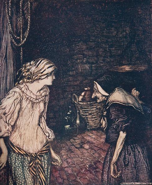 Picture Book「The Robber Bridegroom」:写真・画像(15)[壁紙.com]