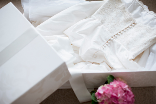Wedding Dress「Wedding dress in box」:スマホ壁紙(4)