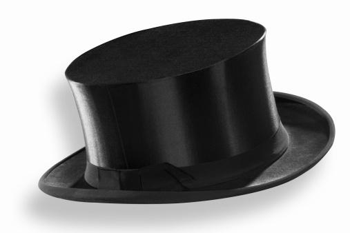 シルクハット「Top hat, close-up」:スマホ壁紙(7)