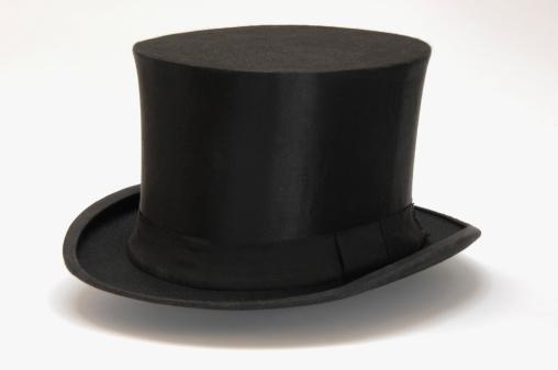 シルクハット「'Top hat, close-up'」:スマホ壁紙(3)