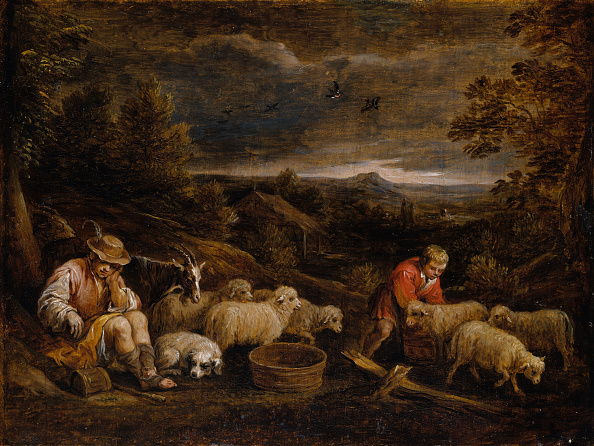 animal「Shepherds And Sheep. Creator: David Teniers Ii.」:写真・画像(13)[壁紙.com]