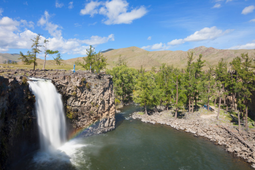 Orkhon Valley「Ulaan Tsutgalan waterfall, Orkhon Valley」:スマホ壁紙(11)