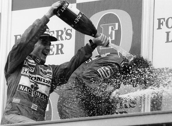 Pouring「Alain Prost And Ayrton Senna」:写真・画像(6)[壁紙.com]