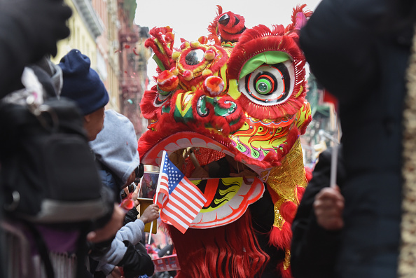 Chinese New Year「Annual Lunar New Year Parade Held In New York's Chinatown」:写真・画像(19)[壁紙.com]