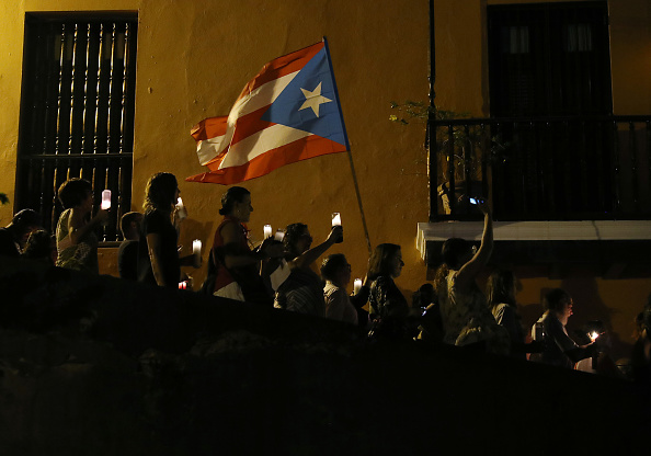 Lighting Equipment「Protesters Demand Resignation Of Puerto Rico's Governor Ricardo Rossello」:写真・画像(5)[壁紙.com]
