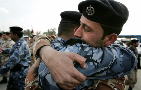 Celebration Event「Iraqi Police Celebrate Annual National Police Day In Baghdad」:写真・画像(14)[壁紙.com]