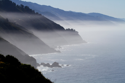 Big Sur「California's Big Sur Coast on a Misty Morning」:スマホ壁紙(3)