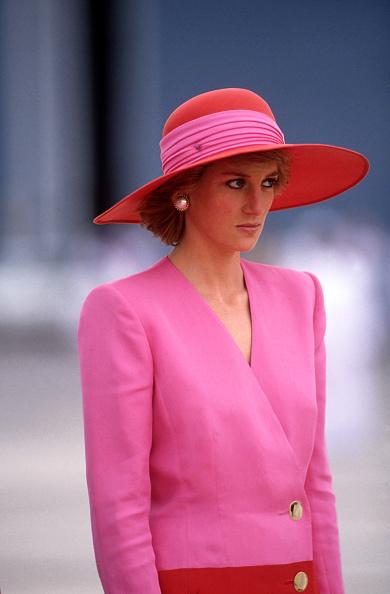 Pink Color「Diana Princess of Wales arrives in Dubai」:写真・画像(3)[壁紙.com]