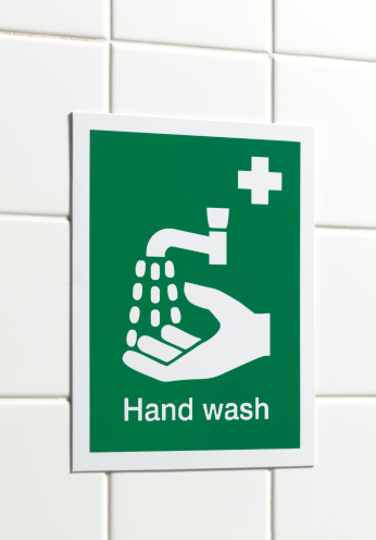 Occupational Safety And Health「Workplace hand wash sign」:スマホ壁紙(7)