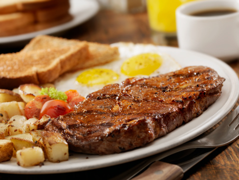 Porterhouse Steak「Steak and Eggs」:スマホ壁紙(15)