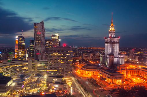 Warsaw「Night in Warsaw」:スマホ壁紙(2)