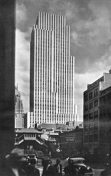 Office Building Exterior「Daily News Building, New York City', 1933.」:写真・画像(15)[壁紙.com]