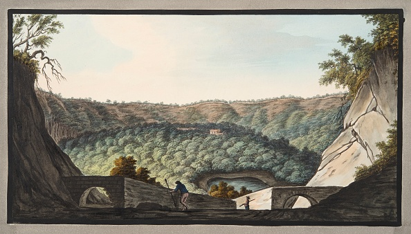 Photograph「View Into The Crater Of Astruni Taken From The Spot Represented In Plate Xix」:写真・画像(0)[壁紙.com]