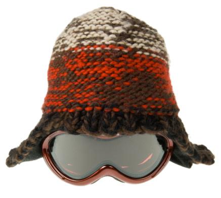 縁なし帽子「Stocking cap with goggles」:スマホ壁紙(8)