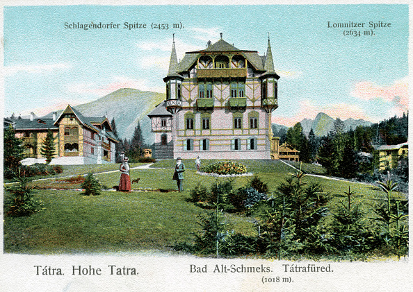Horizontal「'Bad Alt- Schmecks - spa resort in High Tatras」:写真・画像(3)[壁紙.com]